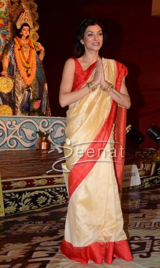 Sushmita Sen In Bollywood Saree