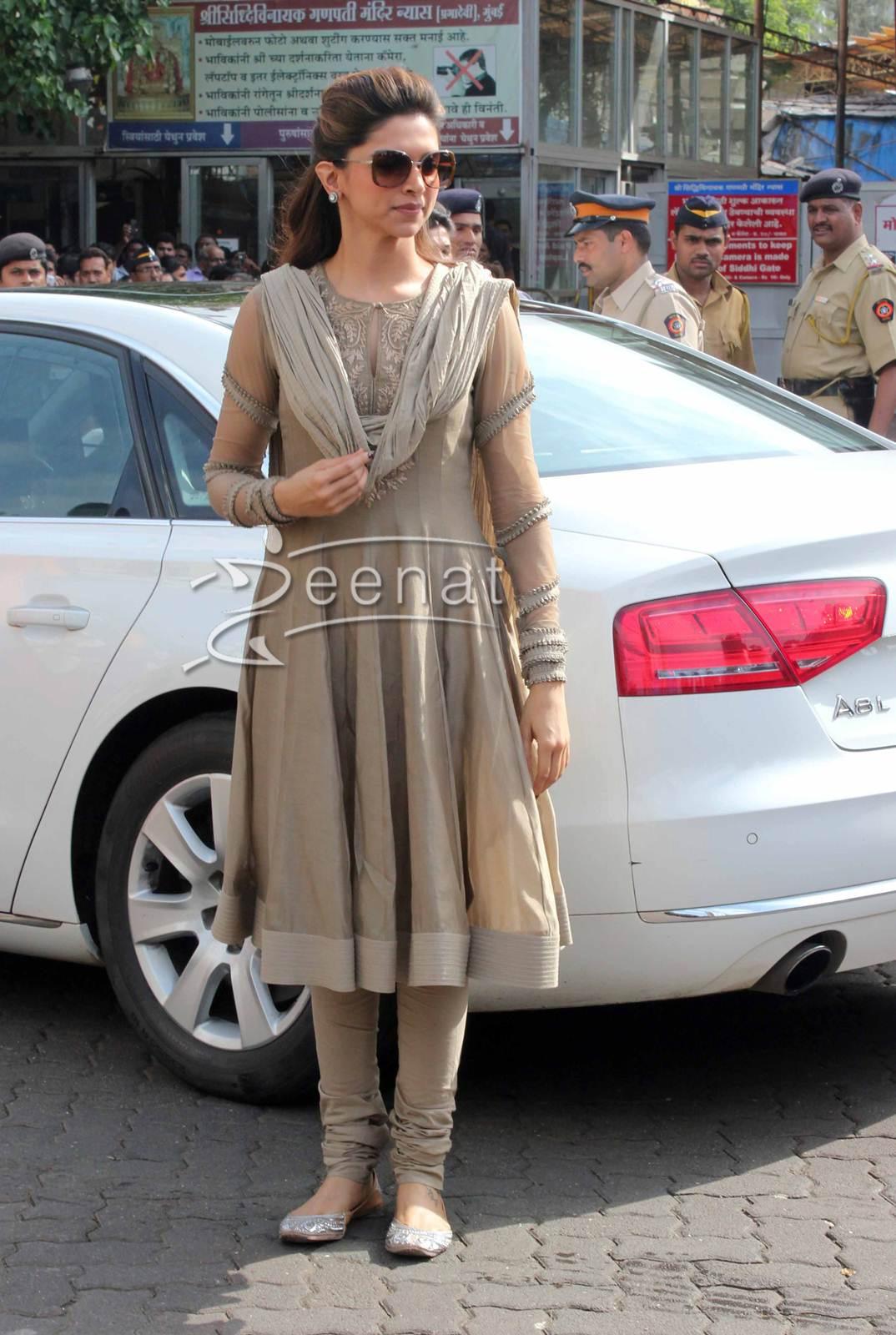 Deepika Padukone In Anarkali Churidar