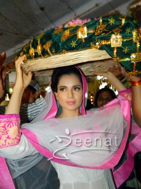 Kangana Ranaut In Anarkali Churidar