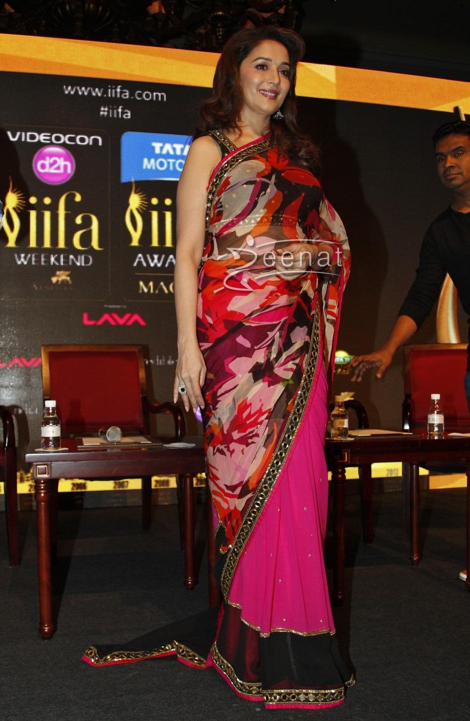Madhuri In Designer Saree