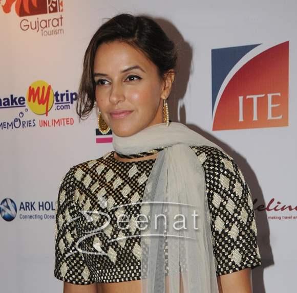 Neha Dhupia in Designer Suit