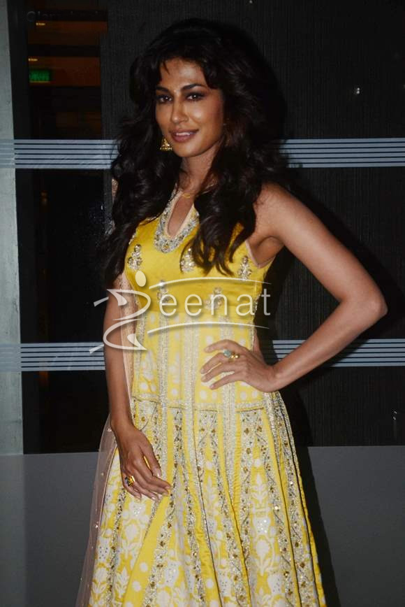 Chitrangada Singh In Yellow Anarkali