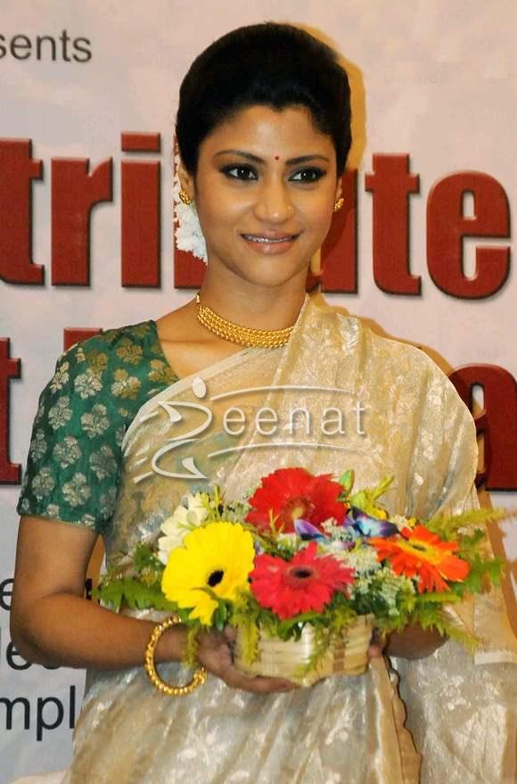Konkona Sen Sharma In Saree