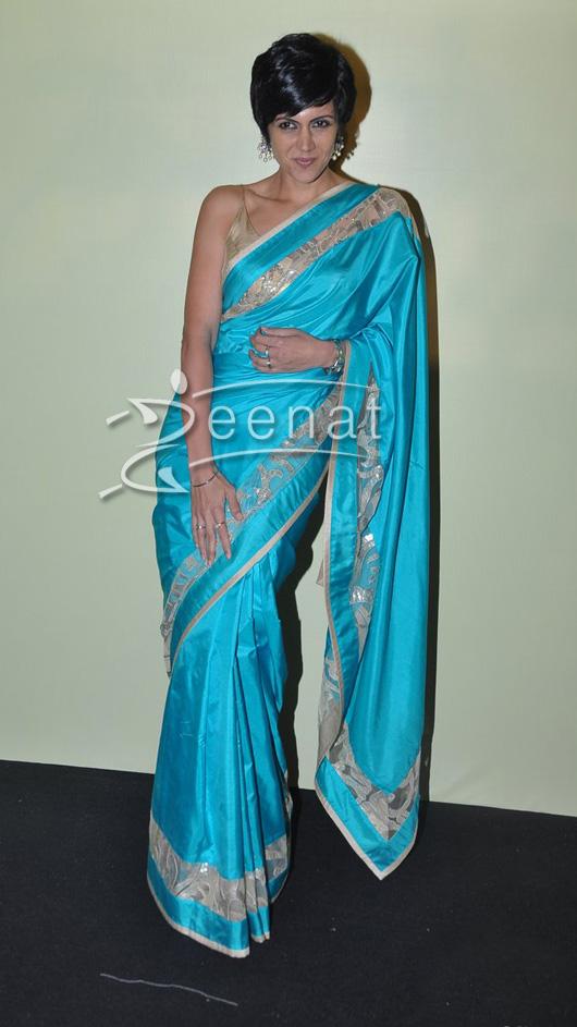 Mandira Bedi at Lakme Fashion Week Summer Resort 2014