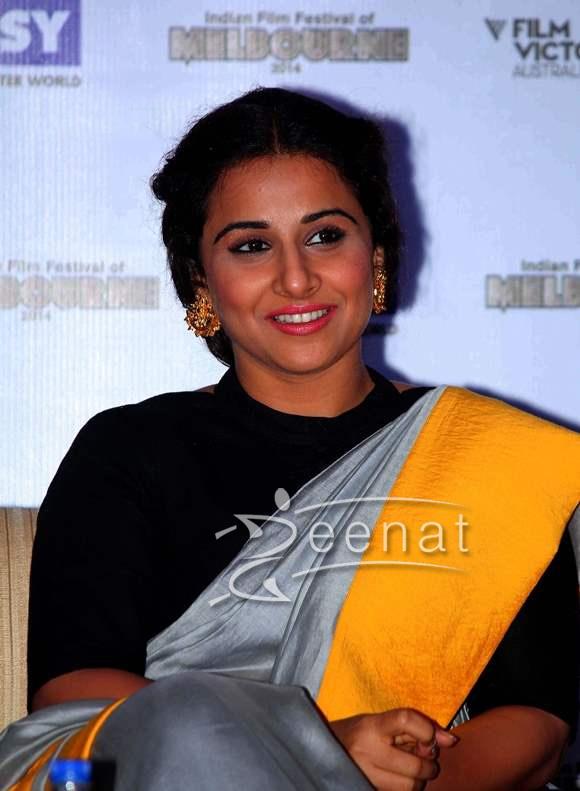 Vidya Balan In Bollywood Saree