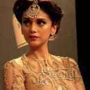 Aditi Rao Hydari In Neeta Lulla Golden Dress Blenders Pride1