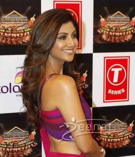 Shilpa Shetty In Tarun Tahilliani Saree 1
