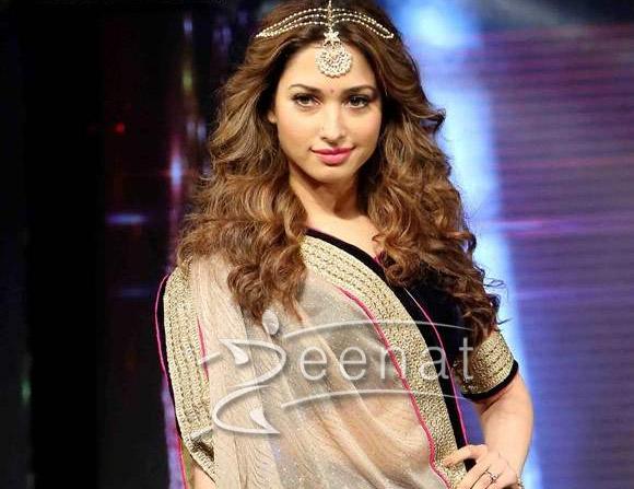 Tamanna Bhatia walked the ramp for Joh Rivaaj 1