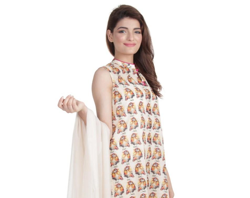 Ego Wear Pakistani Kurtas 2015 Wild Sparrow 1