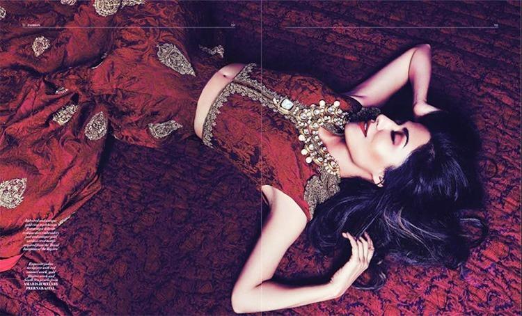 Chitrangada Singh Exquisite Bridal Photoshoot For L'officiel (1)