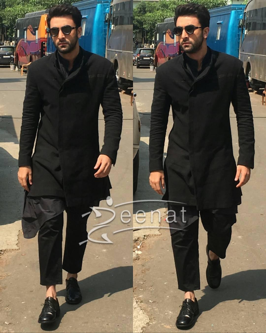 Ranbir Kapoor In Black Suit Ae Dil Hai Mushkil