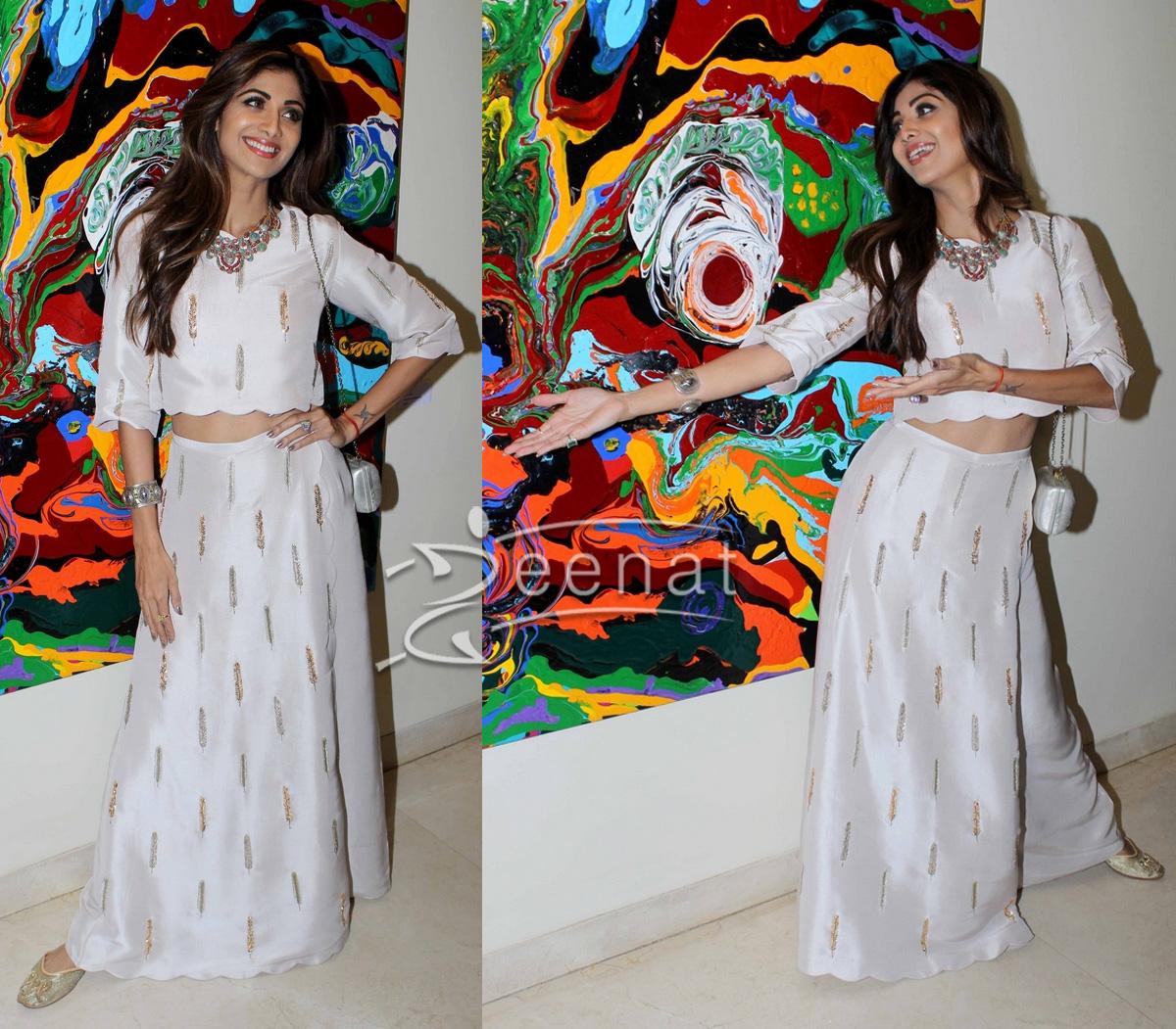 Shilpa Shetty in Payal Singhal