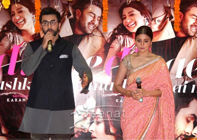 Ranbir Kapoor Anushka Sharma Ae DIl Hai Mushkil