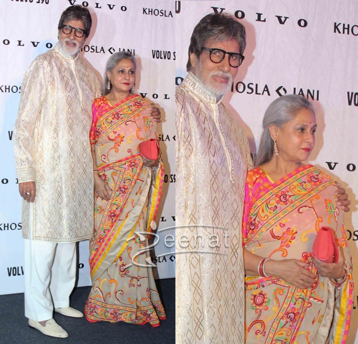 Jaya Bachchan at Abu Jani & Sandeep Khosla Association with Volvo S90