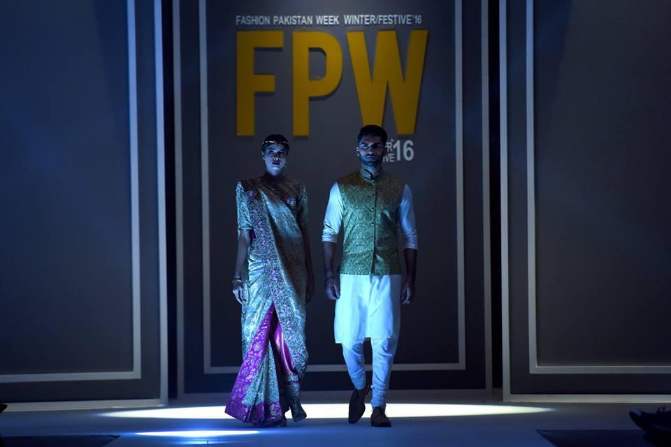 Jeem By Hamza Asghar Bokhari Showcased Naurooz at FPW16