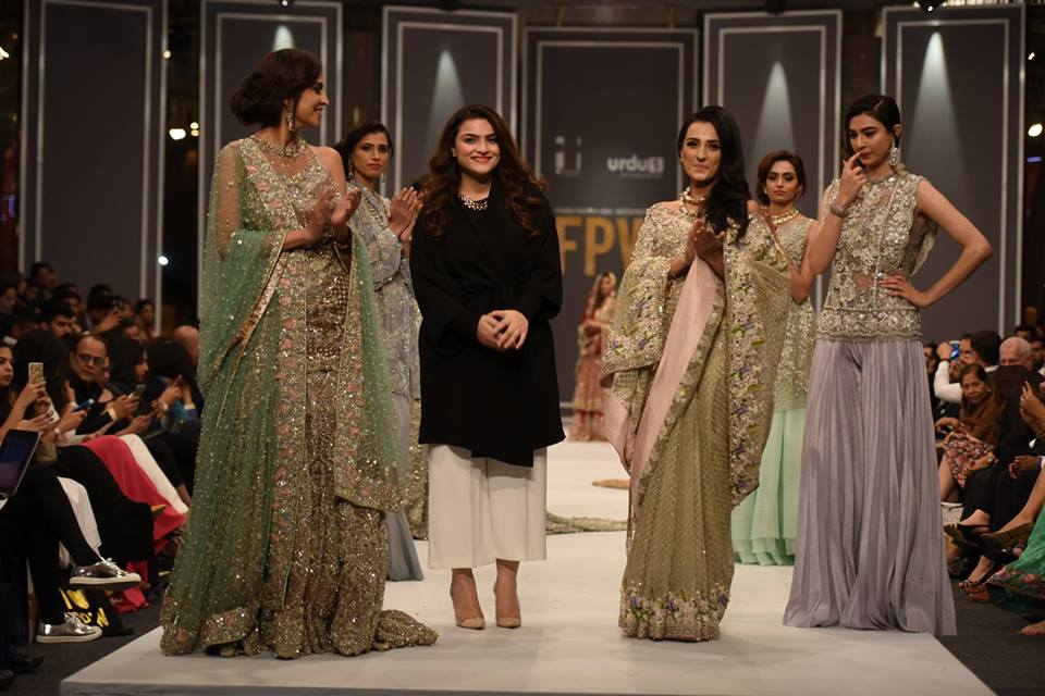 """Suffuse by Sana Yasir """"Freesia"""" Collection at FPW 2016 