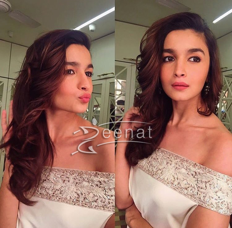 Alia Bhatt in Manish Malhotra for Ronnie Screwala's Daughter Wedding