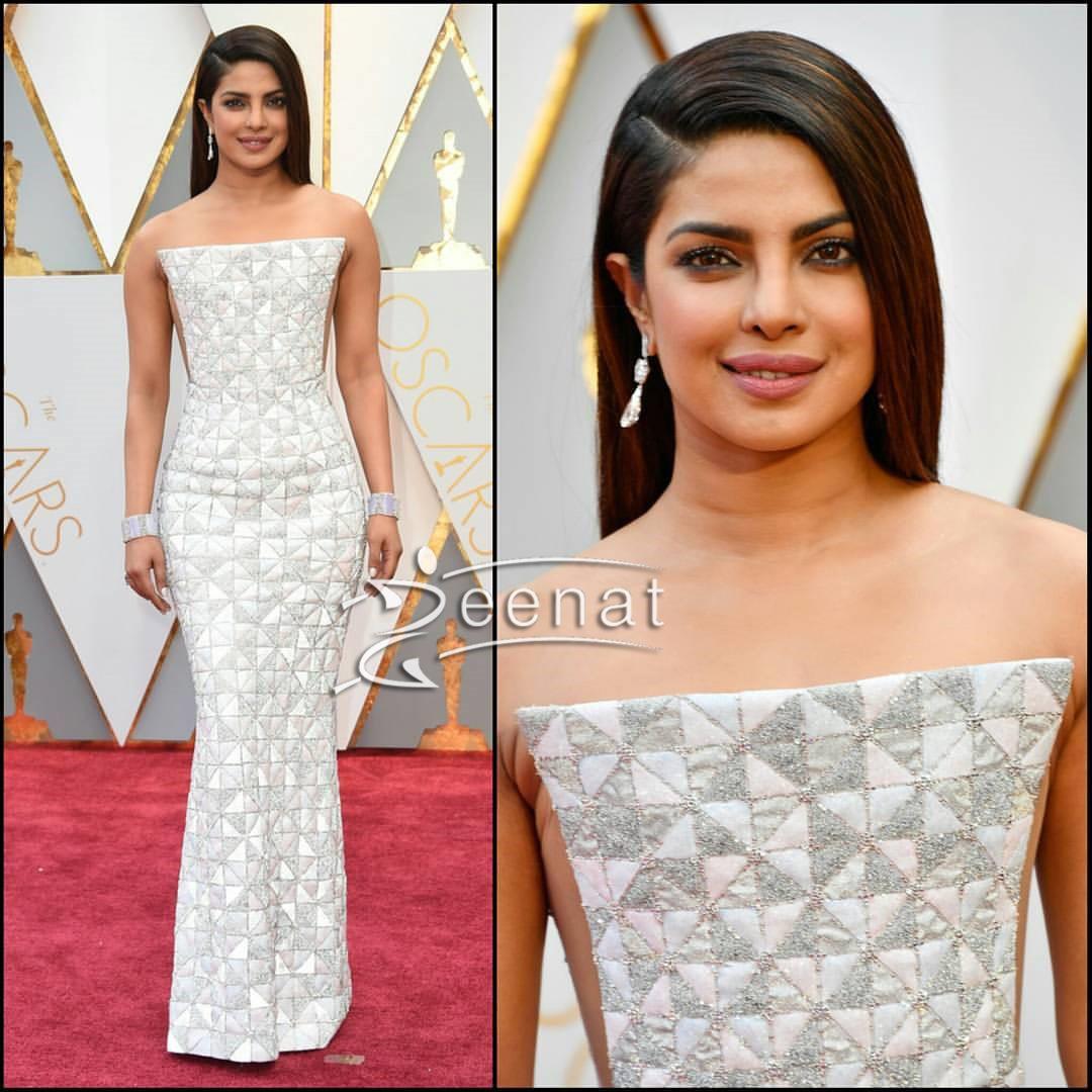 Priyanka Chopra at The Oscars 2017 - #Oscar17
