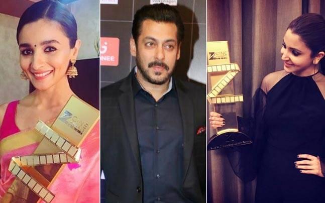 Bollywood Celebrities at Zee Cine Awards 2017