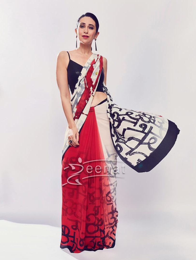 Karisma Kapoor in Satya Paul Saree